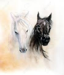 Peinture Noir Et Blanc by