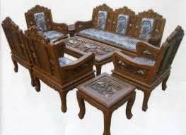 carved teak wood living room furniture set beautiful country with