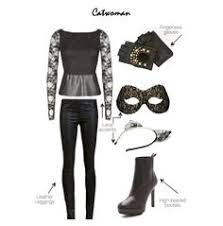 Homemade Catwoman Halloween Costume Catwoman Halloween Costume
