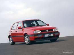 volkswagen golf iii 5 doors specs 1992 1993 1994 1995 1996