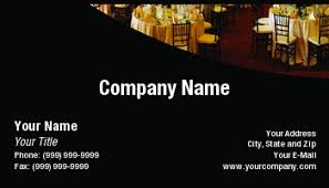 Catering Calling Card Design Template At74529 Banquet Hall
