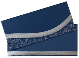 royal blue wedding invitations royal blue and silver colour wedding invitation wedding