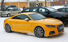 audi tt rs manual 2017 audi tt rs spied with a manual transmission