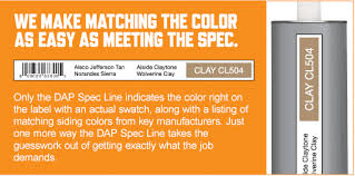 color match dap spec line