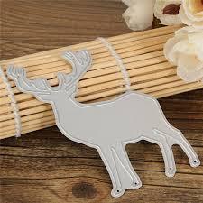 Diy Scrapbook Album Christmas Elk Cutting Dies Diy Handicraft Scrapbook Album Paper