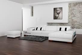 canapes cuir blanc canapé cuir d angle melodie 2 italien avec pouf modèle