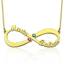 cheap name necklaces personalized infinity fashion jewelry custom names necklace