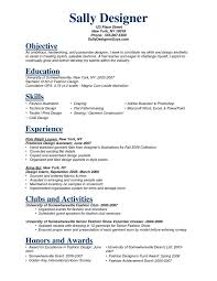 1000 Ideas About Resume Objective On Pinterest Resume - fashion resume template 66 images creative fashion resume