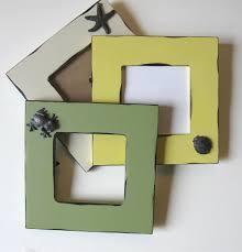 3 embellished photo frames beach cottage decor 7
