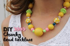 necklace beads diy images Diy chunky bead necklace find it make it love it jpg