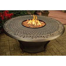 Firepit Table Outdoor Greatroom Grand Colonial Granite Pit Table Hayneedle