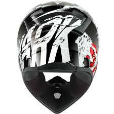 motocross protection gear shark sx2 freak black white red motocross helmet kwr safety mx