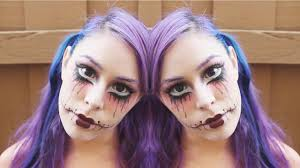 Creepy Doll Makeup Halloween by Twisted Doll Makeup Tutorial Youtube