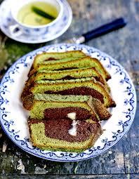 cuisine au thé marbré thé vert et chocolat blanc pour 6 personnes recettes à