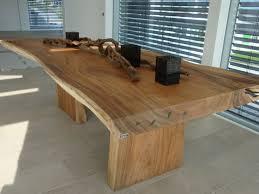 table cuisine bois brut ouverture mur cuisine salon 3 table en bois massif 200x100
