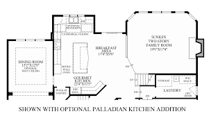 Inland Homes Devonshire Floor Plan by Reserve At Chester Springs The Dandridge Home Design