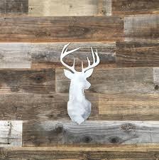 deer home decor rustic home deer head sign farmhouse metal words kitchen wall
