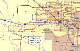 Arizona County Map 151 89 Acres In Maricopa County Arizona
