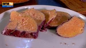 cuisine tv recettes vues à la tv page recettes le du foie gras