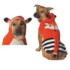 pet sweaters foxy hoodie sweater chilly sweaters