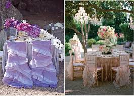 Ruffled Chair Covers Dress Up Your Wedding Chairs Belle The Magazine
