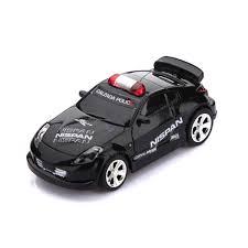 mini rc remote radio racing car siren led light