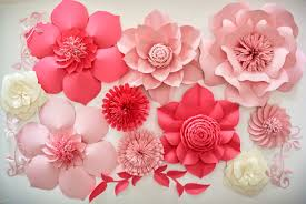 flower backdrop paper flower backdrop wedding centerpiece paper