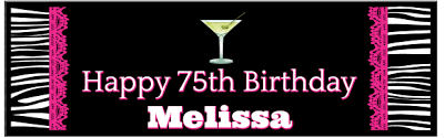 party banner 75th birthday banners add flair to your party
