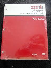 original case ih 1620 combine parts catalog manual jjc0032630 u0026 up