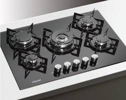 glem piani cottura gv64bk piano cottura cristallo 60 cm cottura prodotti glem gas