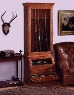 Pine Gun Cabinet How To Build A Gun U0026 Rifle Cabinet 7 Free Plans