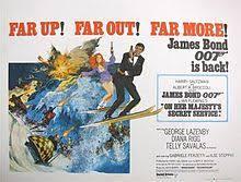 james bond film when is it out on her majesty s secret service film wikipedia