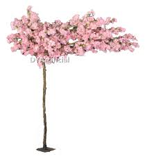 280cm wooden trunk artificial flowering tree dongyi