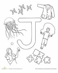 activities using letters jewels letter j and preschool letter j