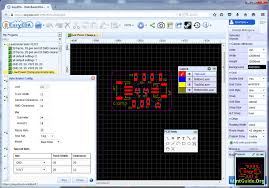 pcb design software simulator and pcb design software for linux