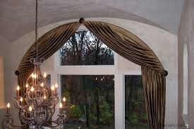 Arch Window Blinds That Open And Close Eyebrow Window Treatments Newton Custom Interiors