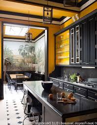 cuisine noir et jaune beautiful cuisine couleur moutarde pictures antoniogarcia info avec