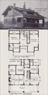 early 1900 bungalow house blueprint plan how to build plans