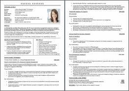 Usa Resume Template by Usa Resume Template Resume Sle