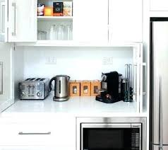 kitchen appliance storage cabinet kitchen appliance storage cabinet small appliances under cabinet