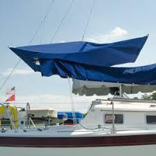 Sailboat Sun Awnings Sail U0026 Canvas Kits Awnings Bags Biminis Dodgers