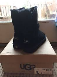 s ugg bailey boots s ugg australia black bailey button ll boots size 9