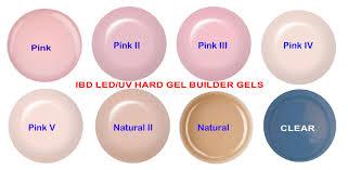 ibd led uv builder gel pink ii cool pink 56 g 2oz