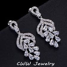 aliexpress buy cwwzircons new arrival white gold color aaa