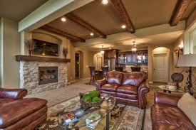 This Tuscan Style Home Interior Design And Decorating Elements - Tuscan style family room