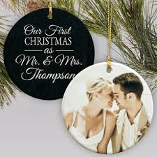 personalized wedding ornaments engagement ornaments