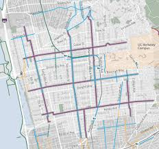 Map Berkeley We Go To Berkeley City Council March 15 For Fulton Street Bike