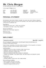 Sample Of Cv And Resume by Nobby Design Ideas Cv Resume Example 5 Free Cv Examples Templates