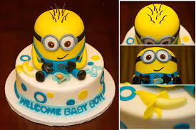 minions baby shower baby shower minion cake custom cakes minion cakes