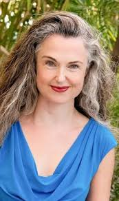 beautiful gray hair streaks image result for transition to gray hair a pretty way to go grey